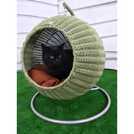 Подвесной домик кокон для котов, кошек