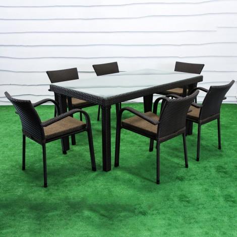 """Обеденный комплект мебели """"Вермонт"""" 160"""