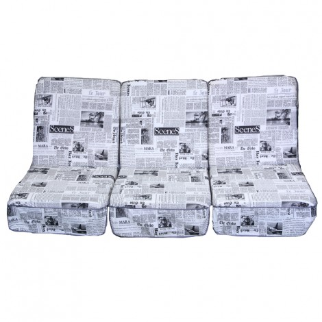 Комплект поролоновых подушек, П-10