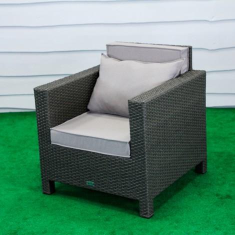 """Кресло """"Классик"""" из искусственного ротанга, Кс-004"""